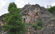 The rock-hewn Sveta Petka Chapel